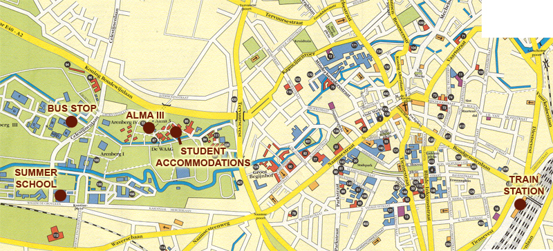 ku leuven campus map Rooms In Students Residency Faculty Of Science ku leuven campus map